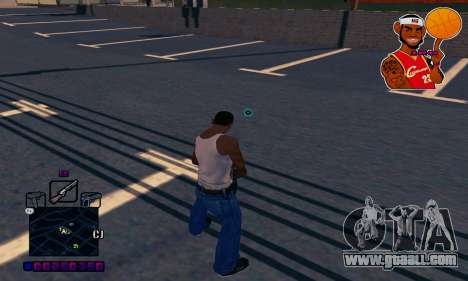 C-HUD Basketball for GTA San Andreas third screenshot