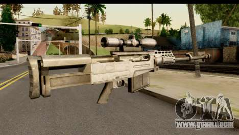 Accuracy International AS50 .50 BMG for GTA San Andreas second screenshot