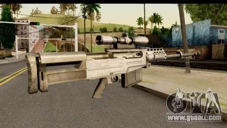 Accuracy International AS50 .50 BMG for GTA San Andreas second screenshot