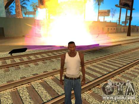 Fagot Funny Effects 1.1 for GTA San Andreas