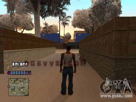 C-HUD Heart for GTA San Andreas second screenshot