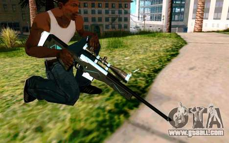 Blue Line Sniper for GTA San Andreas forth screenshot