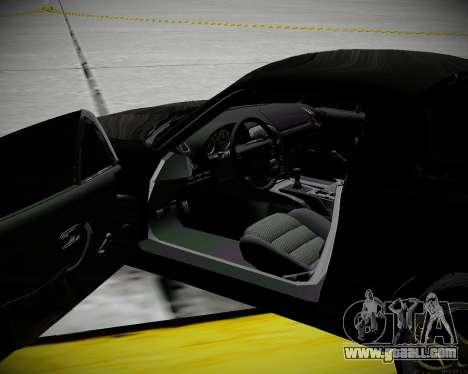 Mazda MX-5 JDM for GTA San Andreas inner view