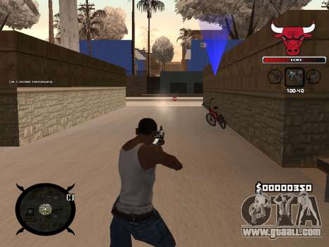 C-HUD Angry for GTA San Andreas second screenshot