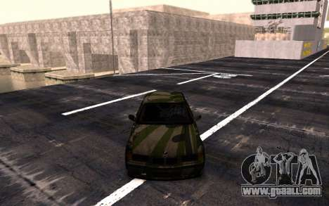 BMW M3 E36 Hunter for GTA San Andreas back left view