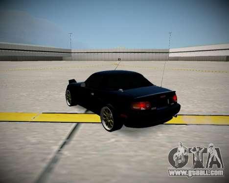 Mazda MX-5 JDM for GTA San Andreas back left view