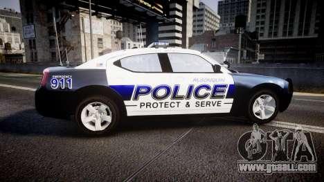 Dodge Charger 2006 Algonquin Police [ELS] for GTA 4 left view