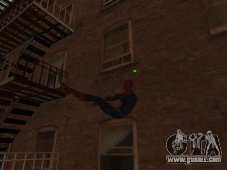 Spiderman Swinging v2.1 for GTA San Andreas third screenshot
