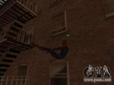 Spiderman Swinging v2.1 for GTA San Andreas third screenshot