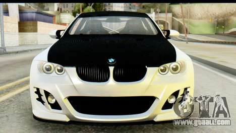 BMW M3 GTS Tuned v1 for GTA San Andreas back view