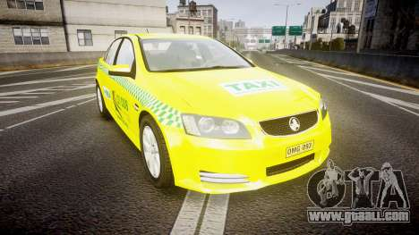 Holden Commodore Omega Series II Taxi v3.0 for GTA 4