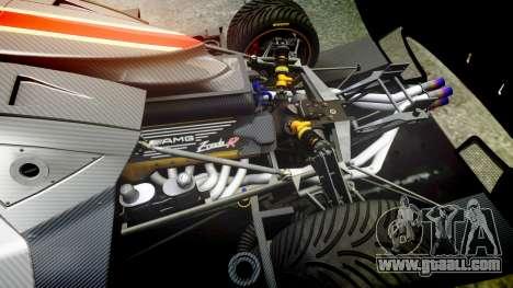 Pagani Zonda Revolution 2013 for GTA 4 inner view