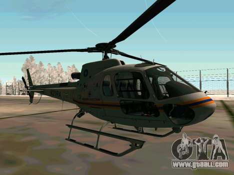 Bo 105 EMERCOM of Russia for GTA San Andreas back view