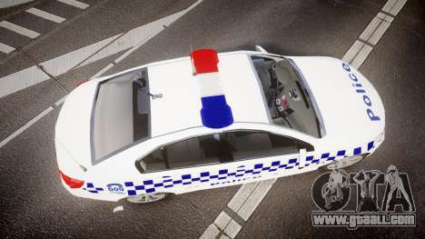 Holden VF Commodore SS Victorian Police [ELS] for GTA 4 right view