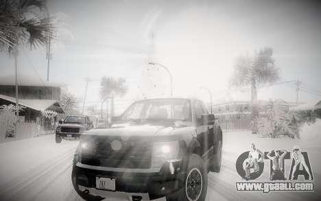 Winter 2.0 ENBSeries for GTA San Andreas second screenshot