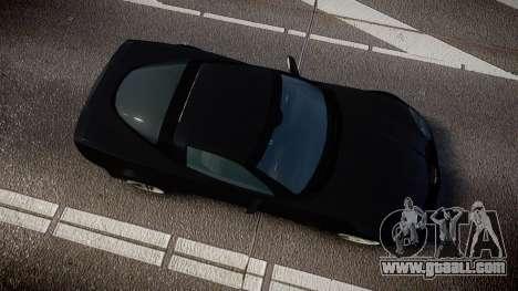Chevrolet Corvette Z06 Unmarked Police [ELS] for GTA 4 right view