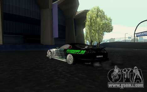 Toyota Supra VCDT for GTA San Andreas left view