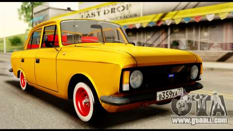 Moskvich 412-028 for GTA San Andreas right view