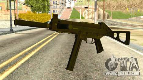 UMP45 from Global Ops: Commando Libya for GTA San Andreas