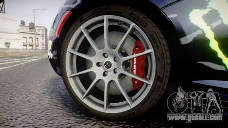 McLaren P1 2014 [EPM] Ken Block for GTA 4 back view