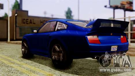 GTA 5 Pfister Comet SA Mobile for GTA San Andreas left view