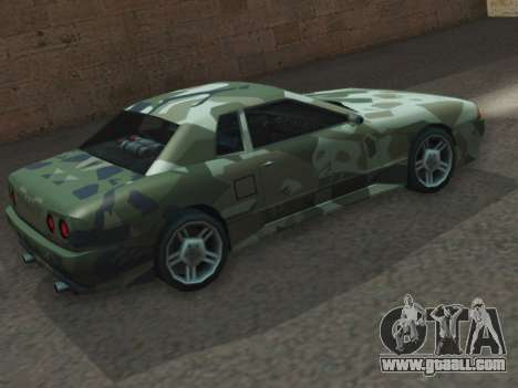 Elegy GTR for GTA San Andreas left view
