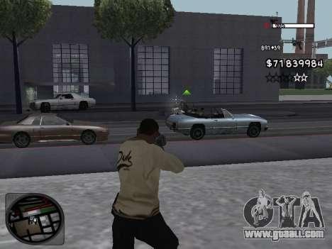 C-HUD White for GTA San Andreas