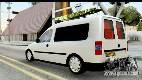 Opel Combo Delta Garage for GTA San Andreas left view
