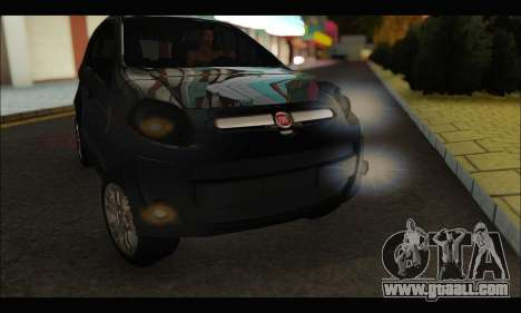 Fiat Palio 2013 for GTA San Andreas