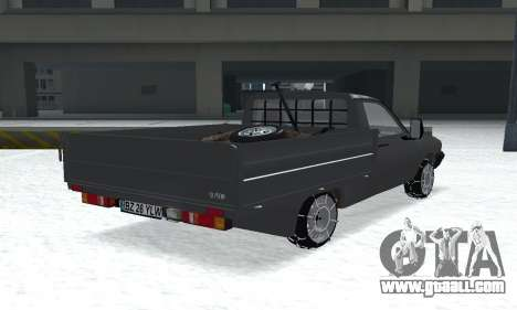Dacia 1305 Papuc Pick-Up Drop Side 1.9D for GTA San Andreas left view