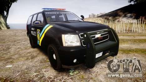 Chevrolet Tahoe 2010 Sheriff Bohan [ELS] for GTA 4