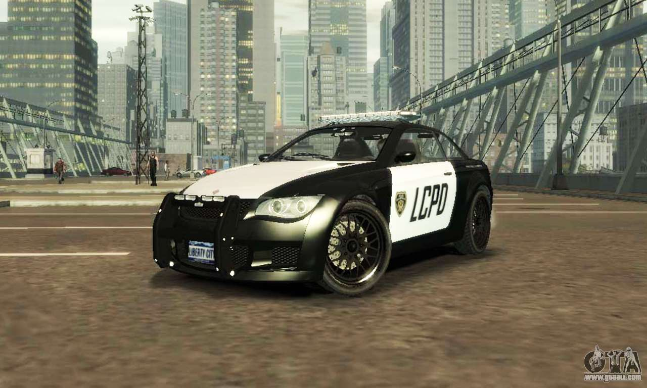 GTA V Ubermacht Sentinel Police [ELS] for GTA 4
