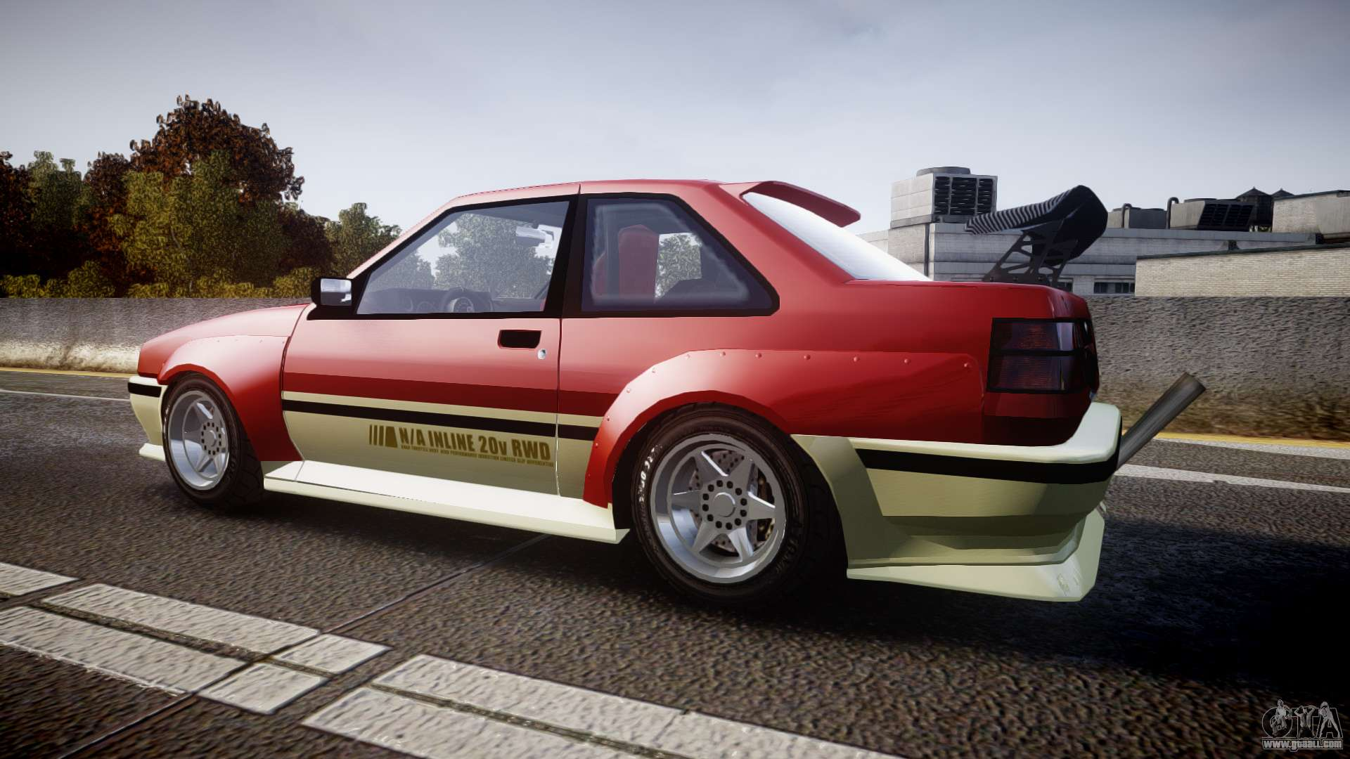 8 Passenger Minivan >> Karin Futo Drift X for GTA 4