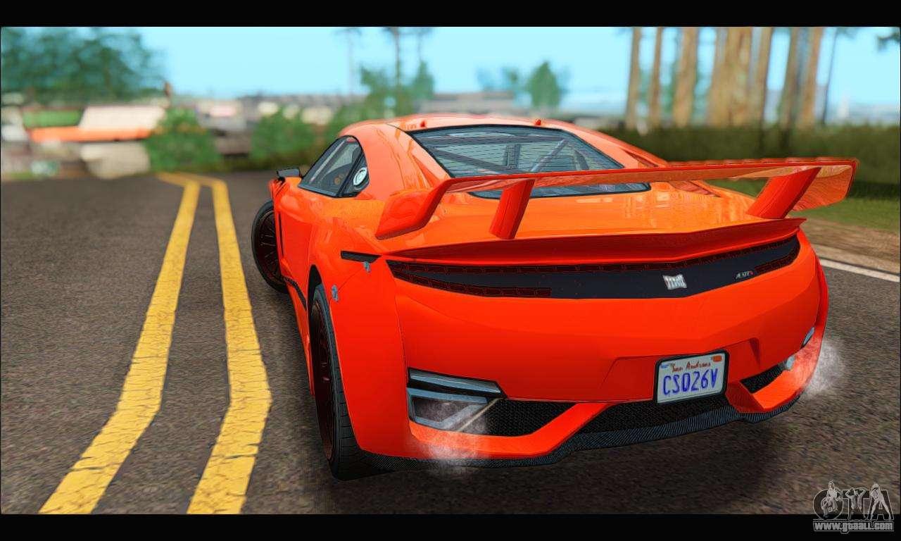 Dinka Jester Racecar (GTA V) for GTA San Andreas