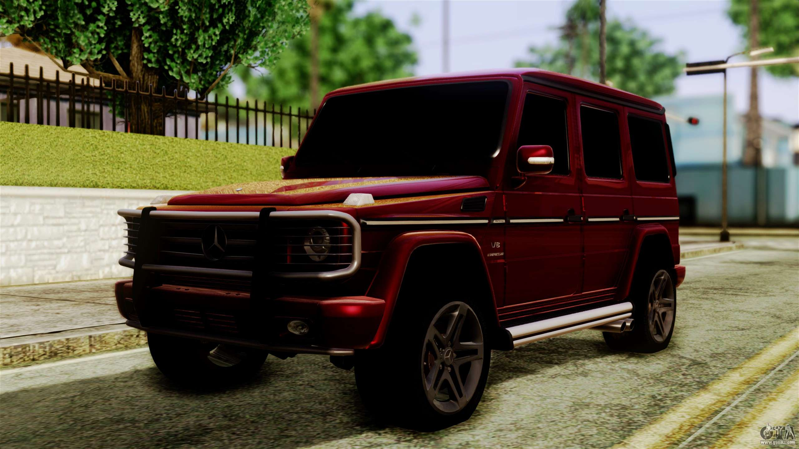 Mercedes benz g55 amg for gta san andreas for Mercedes benz gta