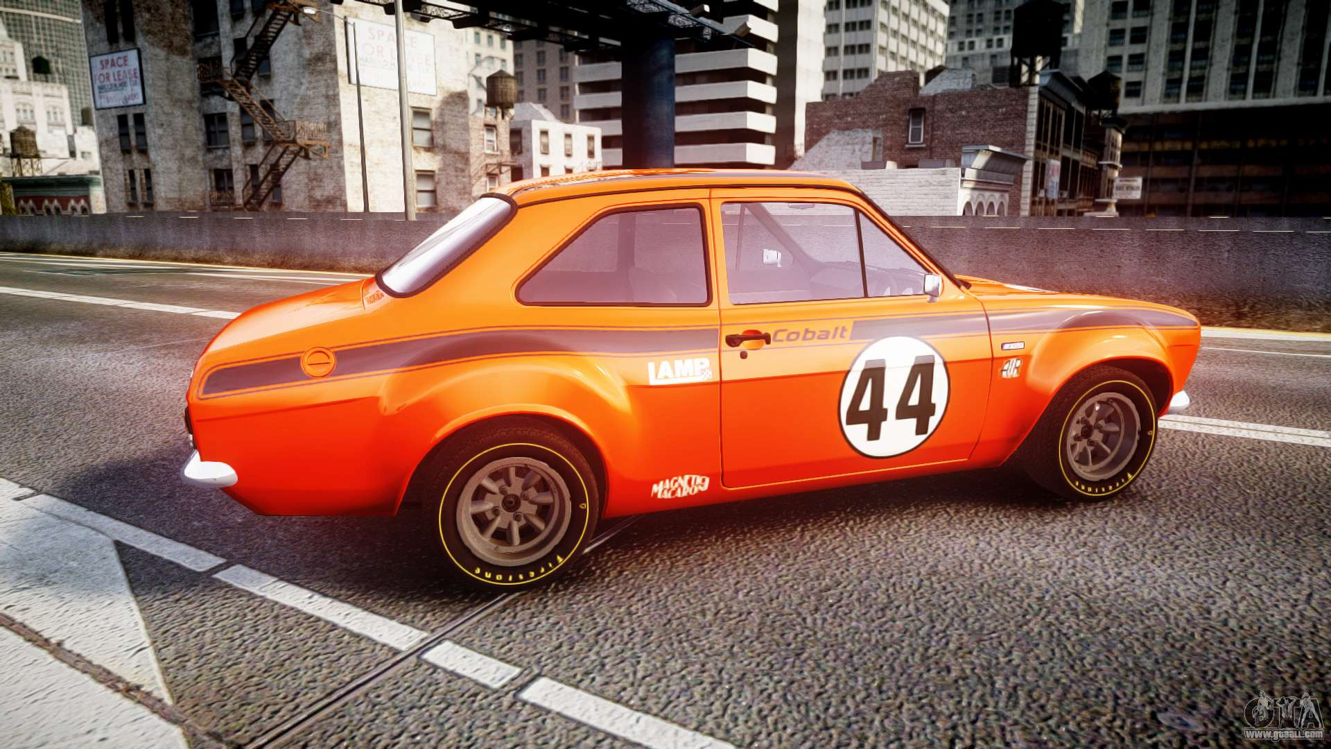 Walter Davies' 1971 Ford Escort RS1600 Racecar, Number 160