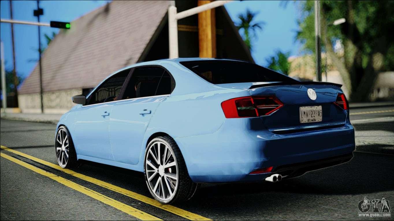 Volkswagen Jetta 2015 for GTA San Andreas