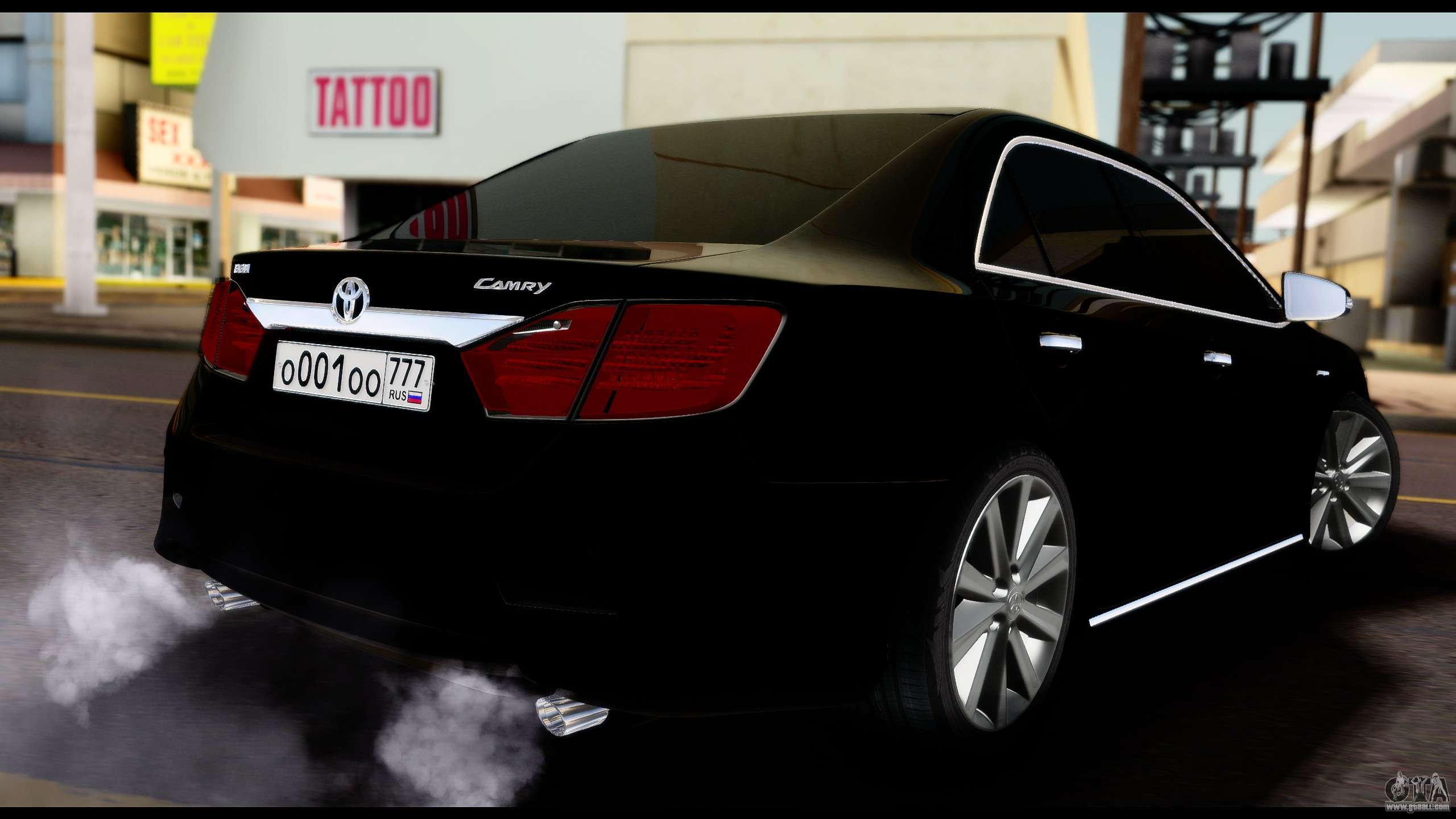 Toyota Plants In Usa >> Toyota Camry 2013 for GTA San Andreas