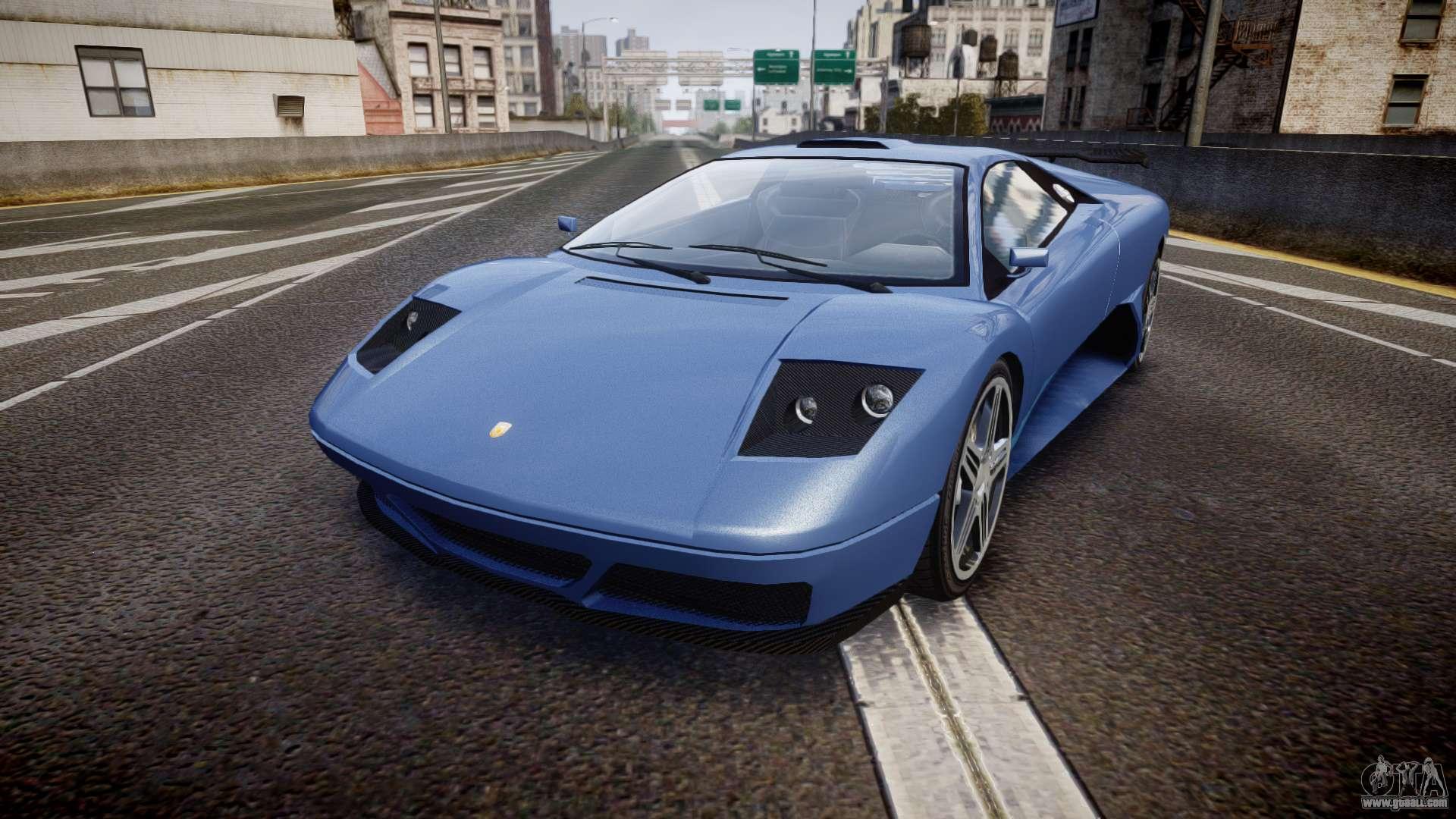 Updated Infernus for GTA 4