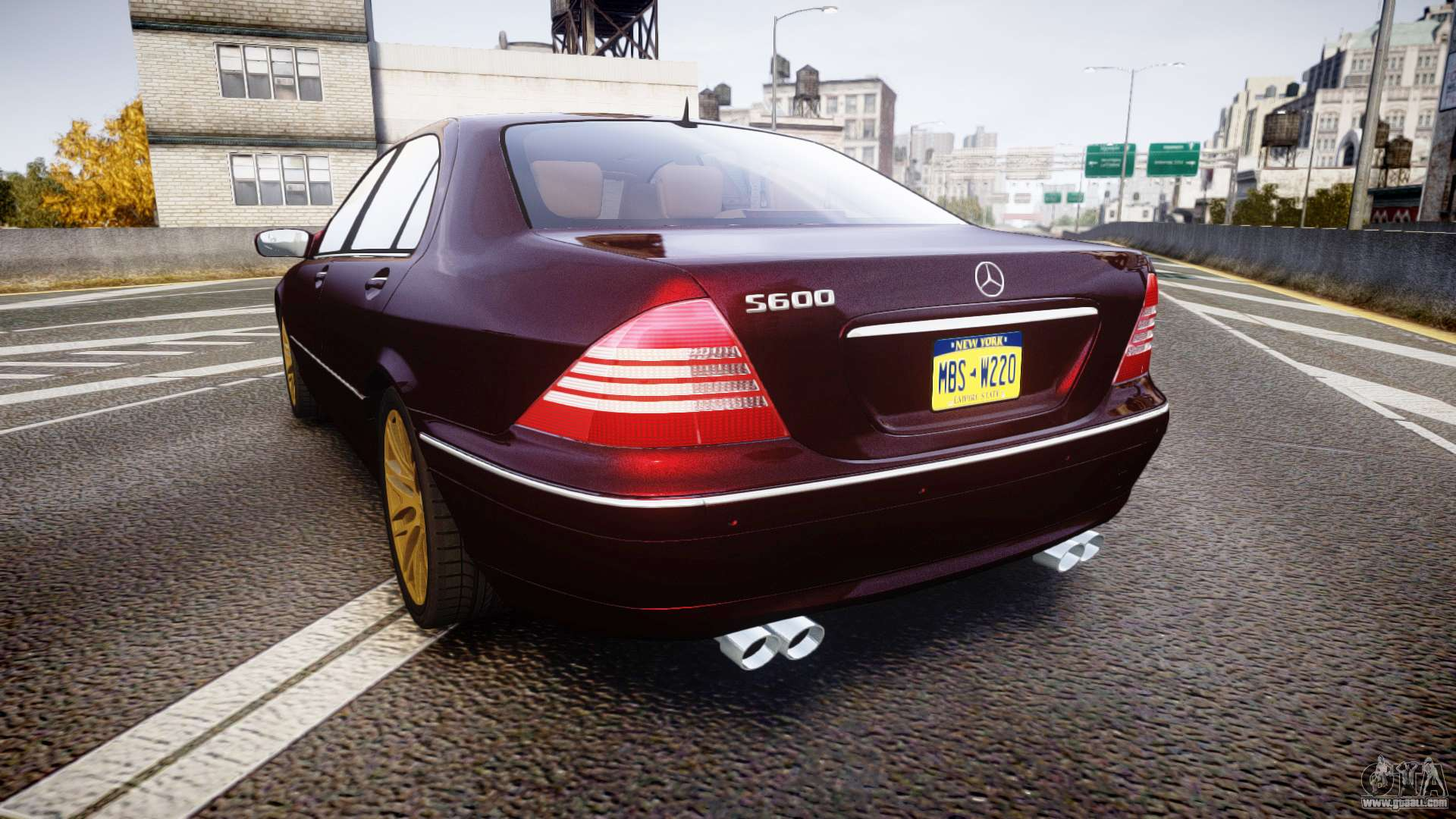 Mercedes benz s600 w220 for gta 4 for Mercedes benz s600