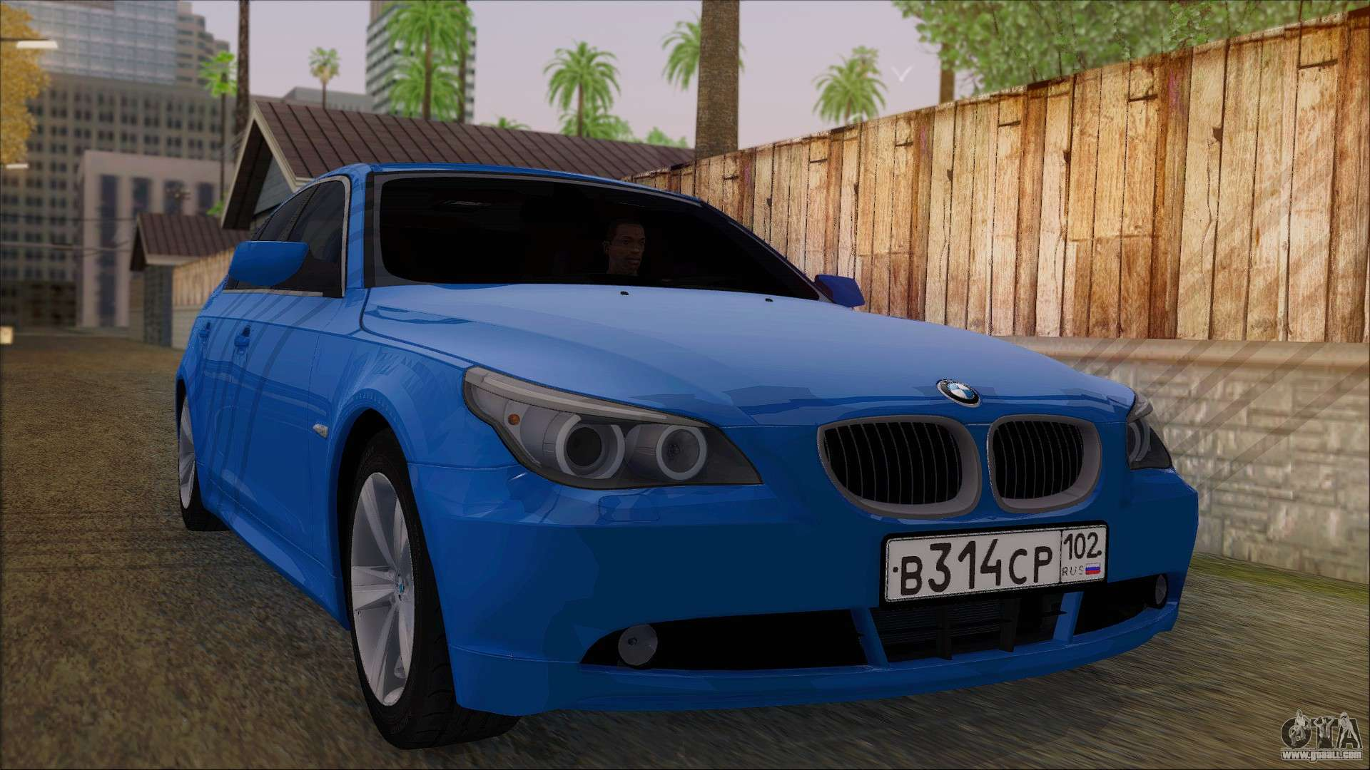 bmw 520i e60 for gta san andreas. Black Bedroom Furniture Sets. Home Design Ideas