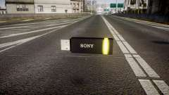 USB flash drive Sony yellow