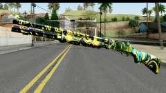 Grafiti Shotgun for GTA San Andreas