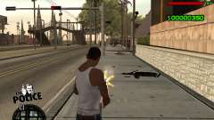C-HUD by Jim for GTA San Andreas