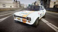 Ford Escort RS1600 PJ76