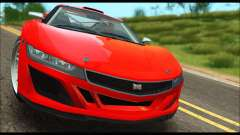 Dinka Jester Racecar (GTA V) (IVF) for GTA San Andreas