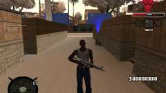C-HUD Angry for GTA San Andreas