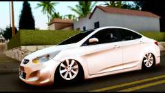 Hyundai Accent Blue for GTA San Andreas