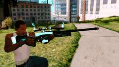 Blue Line Sniper for GTA San Andreas