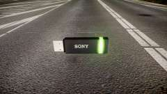USB flash drive Sony green